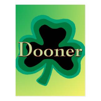 Familia de Dooner Tarjetas Postales