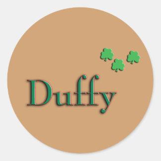 Familia de Duffy Pegatinas Redondas