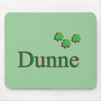 Familia de Dunne Alfombrillas De Raton