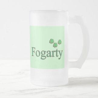 Familia de Fogarty Jarra De Cerveza Esmerilada