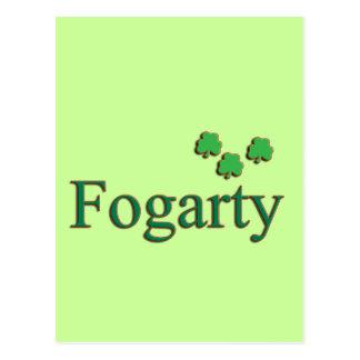 Familia de Fogarty Tarjeta Postal