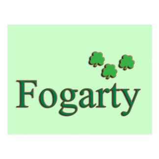 Familia de Fogarty Tarjetas Postales