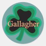 Familia de Gallagher Pegatinas Redondas