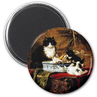 Familia de gatos, Henriëtte Ronner-Knip Imán