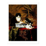 Familia de gatos, Henriëtte Ronner-Knip Tarjetas Postales