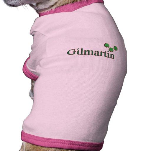 Familia de Gilmartin Ropa Perro
