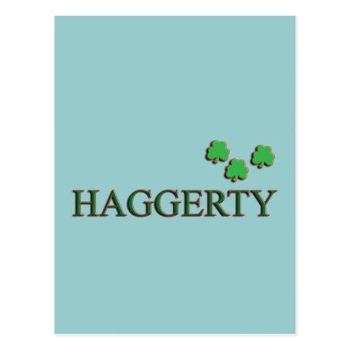 Familia de Haggerty Postal