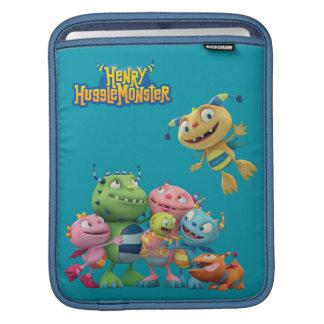 Familia de Hugglemonster Fundas Para iPads
