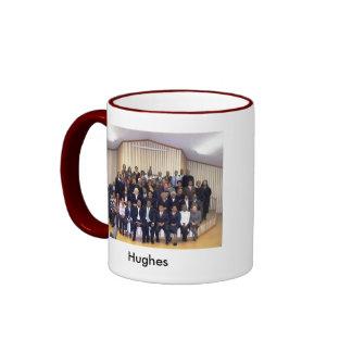 Familia de Hughes Taza A Dos Colores