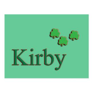 Familia de Kirby Tarjetas Postales