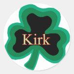 Familia de Kirk Etiquetas Redondas