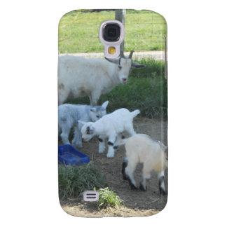 Familia de la cabra del bebé funda para galaxy s4