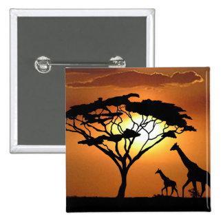 familia de la jirafa pins