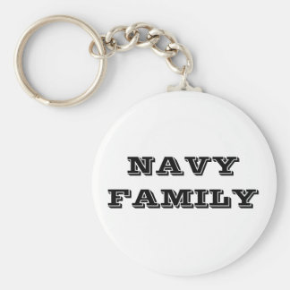 Familia de la marina de guerra del llavero