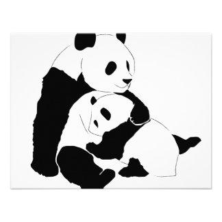 Familia de la panda anuncios personalizados