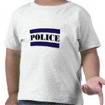 Familia de la policía camiseta