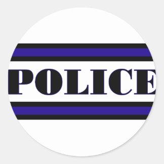 Familia de la policía pegatinas