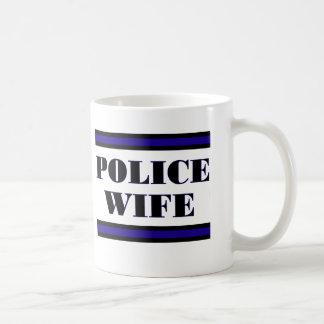 Familia de la policía tazas de café