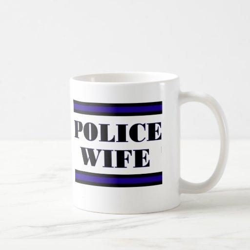 Familia de la policía taza clásica