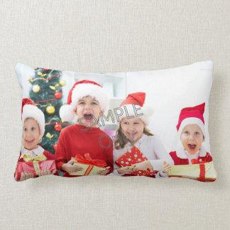 Familia de los niños de la plantilla 2 de la foto almohadas
