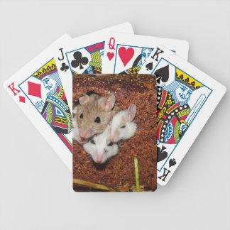 Familia de los ratones baraja cartas de poker