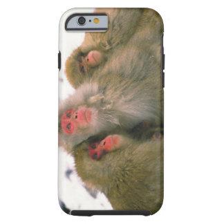 Familia de macaque japonés, Jigokudani, Funda De iPhone 6 Tough