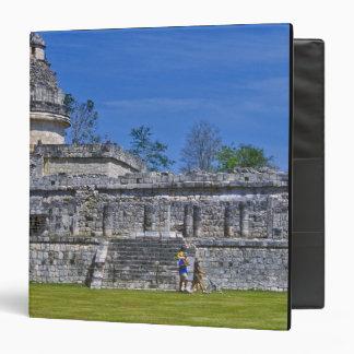 """Familia de maya antiguo del pasado del paseo de lo carpeta 1 1/2"""""""