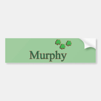Familia de Murphy Pegatina Para Auto