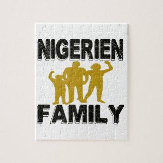 Familia de Nigerien Puzzle