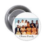 Familia de Obama Pin