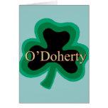 Familia de O'Doherty Tarjeta