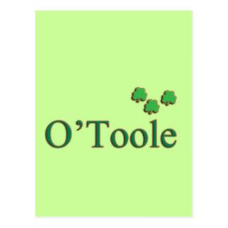 Familia de O'Toole Tarjeta Postal
