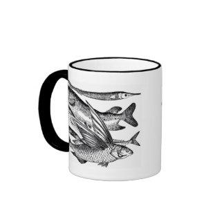 Familia de Pike - pescado Taza De Café
