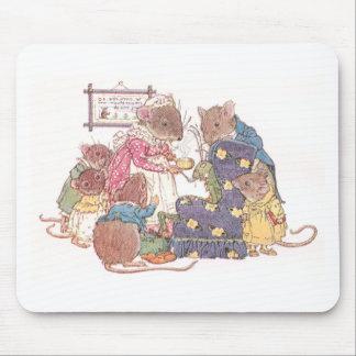 Familia de seis ratones tapetes de ratones