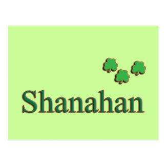 Familia de Shanahan Postales