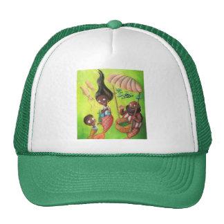 Familia de sirenas gorras