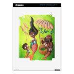 Familia de sirenas iPad 3 pegatinas skins