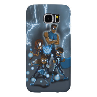 """""""Familia de superhéroes """" Fundas Samsung Galaxy S6"""