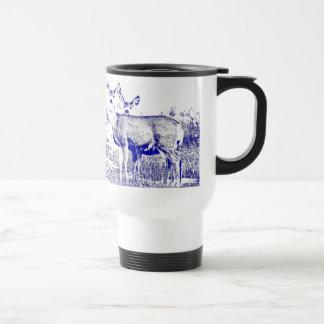 Familia de taza de los ciervos