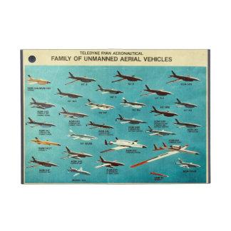 Familia de vehículos aéreos sin tripulación iPad mini carcasas