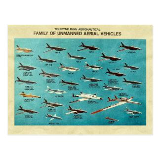 Familia de vehículos aéreos sin tripulación postales