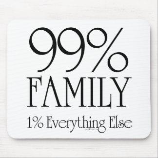 Familia del 99% tapetes de raton