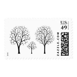 Familia del árbol sellos