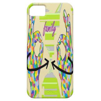 FAMILIA DEL ASL FUNDA PARA iPhone SE/5/5s