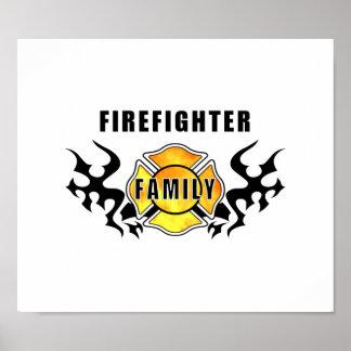 Familia del bombero poster