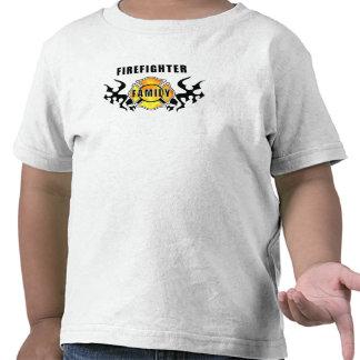 Familia del bombero camisetas