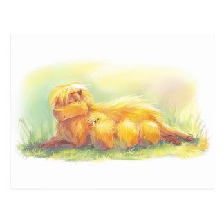 Familia del Capybara Tarjeta Postal