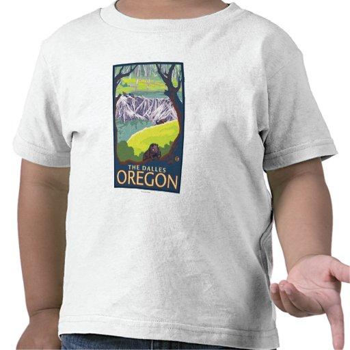 Familia del castor - el Dalles, Oregon Camisetas