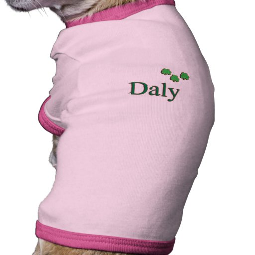 Familia del Daly Camisetas De Perrito