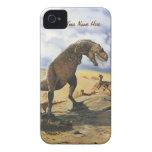 Familia del dinosaurio iPhone-Barely allí Case-Mate iPhone 4 Carcasa